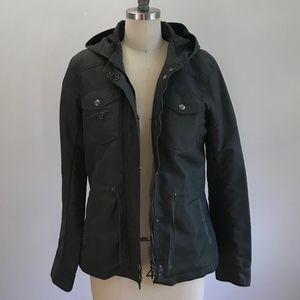 Dark Green J Crew Heavy Winter Jacket